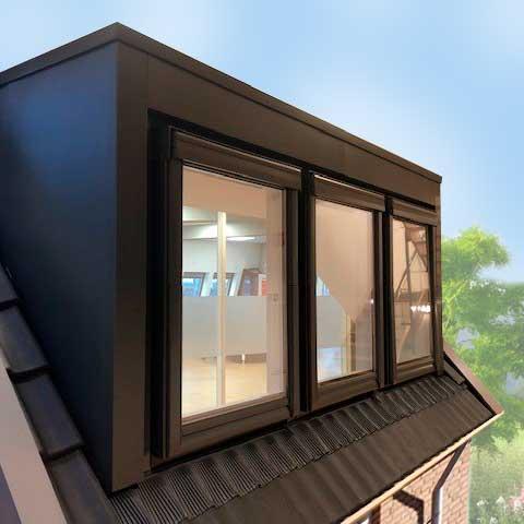 Dakkapellen Modulair | Moduliare dakkapel traditioneel